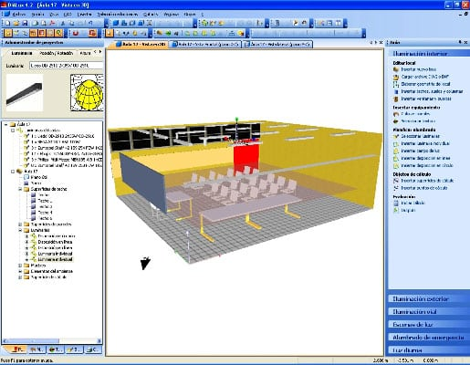 Software para el dise o de iluminaci n for Diseno de interiores software