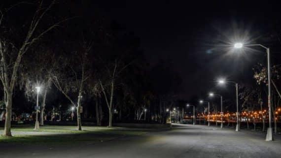 Chile alumbrado público con LED
