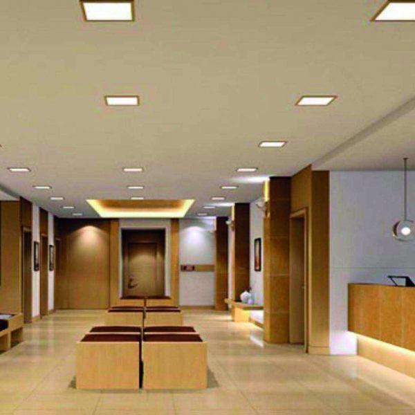 Panel led cuadrado iluminaci n interior venta panel led - Iluminacion interior led ...