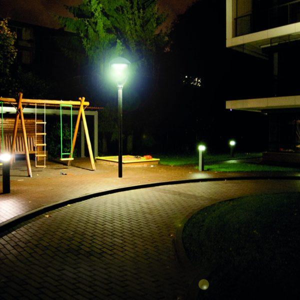 Luminaria de parques y plazas led 90w iluminaci n para - Iluminacion led jardin ...