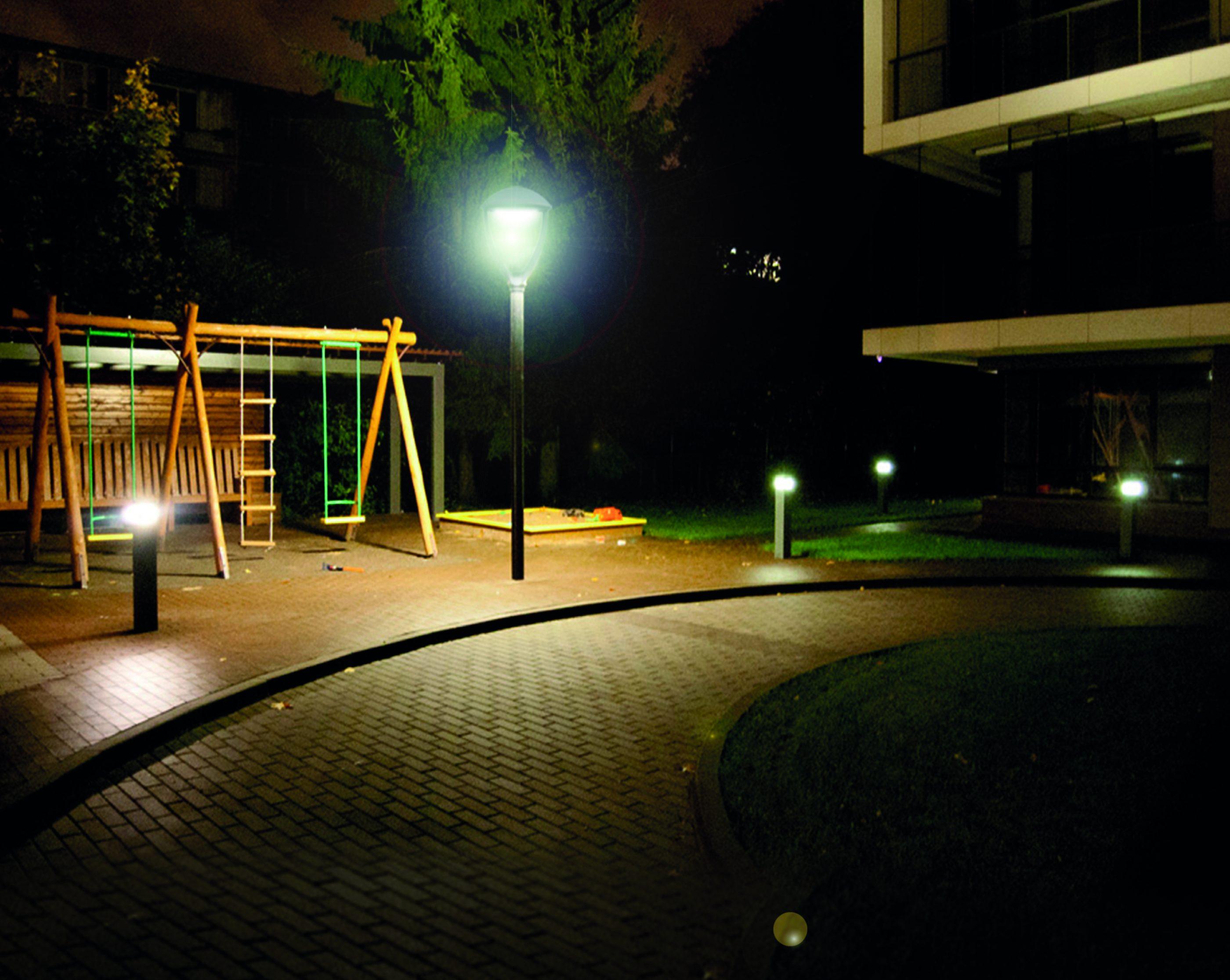 Luminaria de parques y plazas led 90w iluminaci n para for Luminarias de exterior led