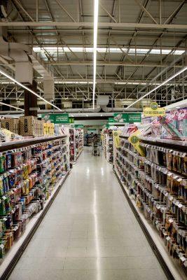 Iluminación Led Super Mercados