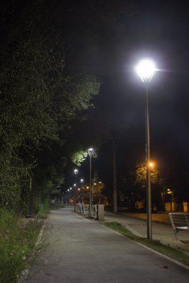 Iluminación para Parques