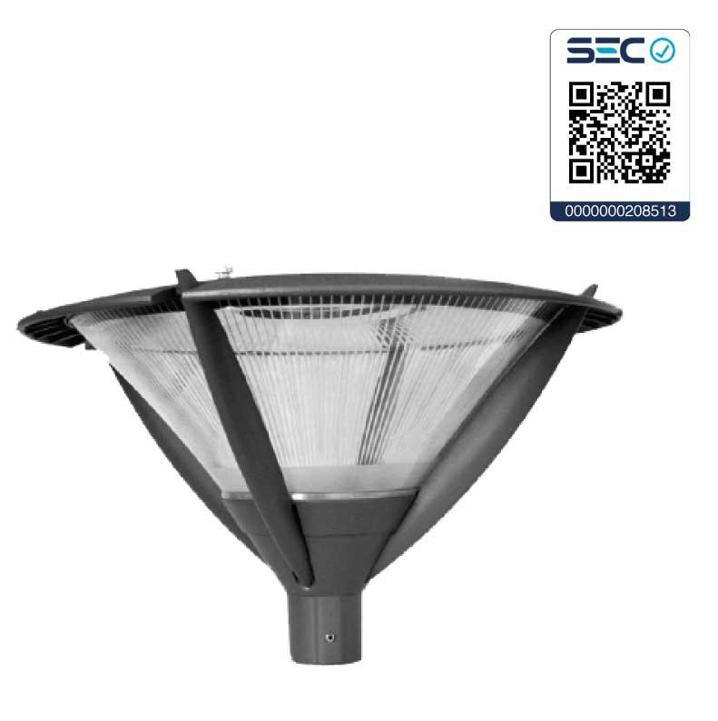 Luminaria de parques y plazas led e40 iluminaci n para for Alumbrado solar exterior