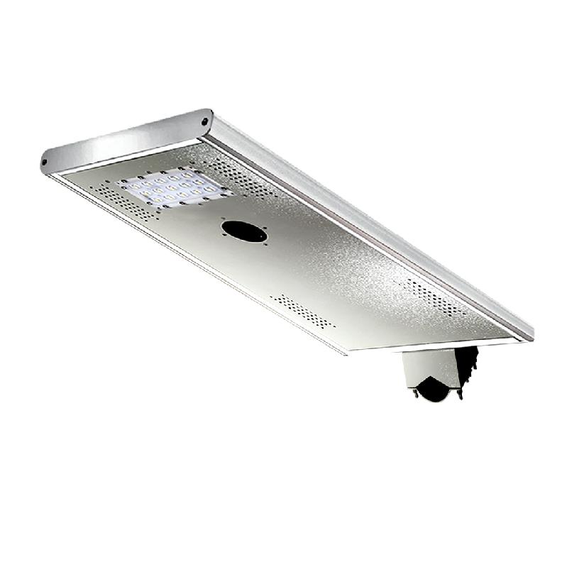 Luminaria solar fotovoltaica de alumbrado p blico led 12w for Alumbrado solar exterior