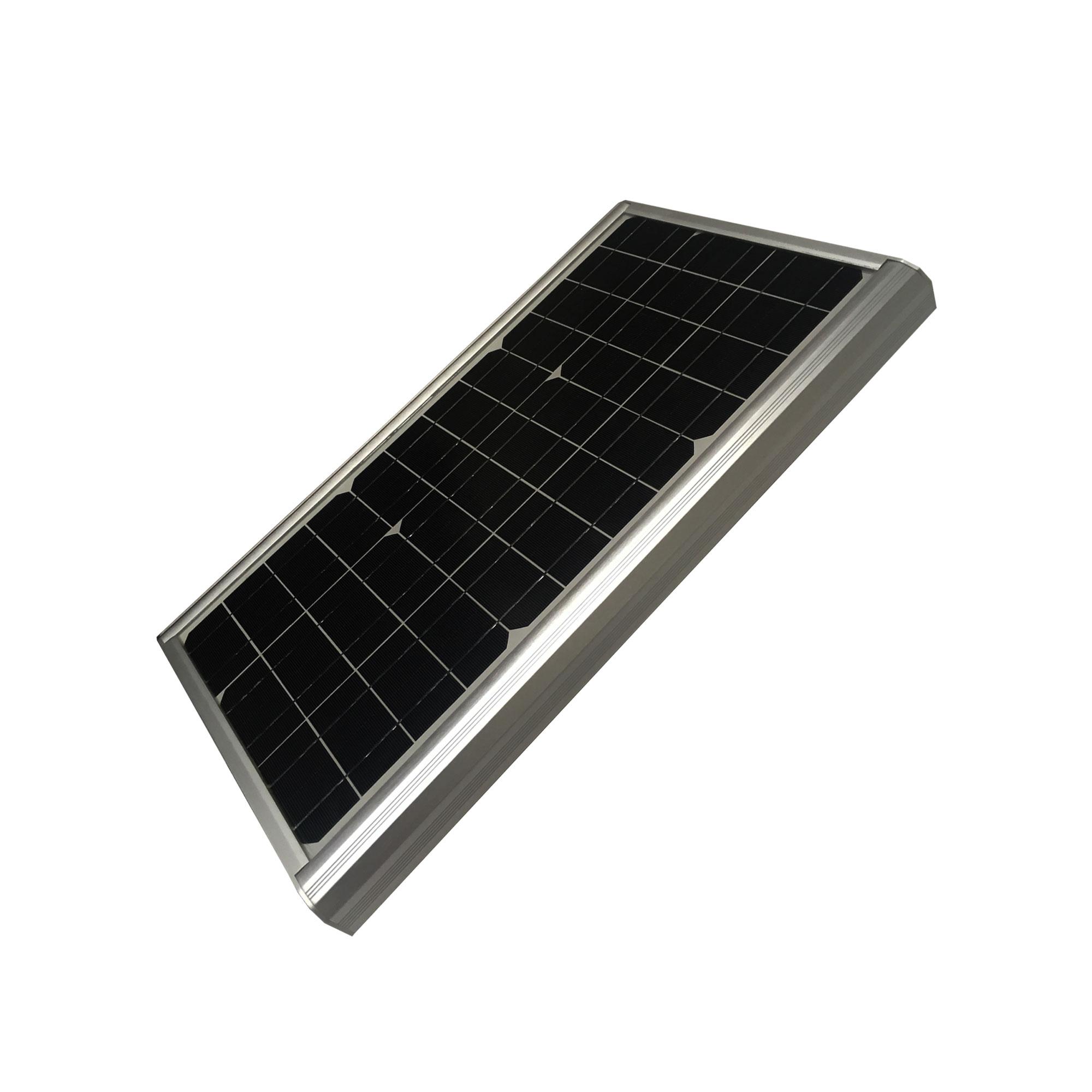 Luminaria solar fotovoltaica de alumbrado p blico led 40w for Alumbrado solar jardin