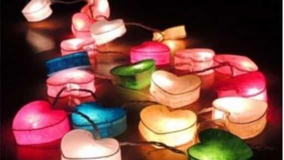 decoración pieza niños luces