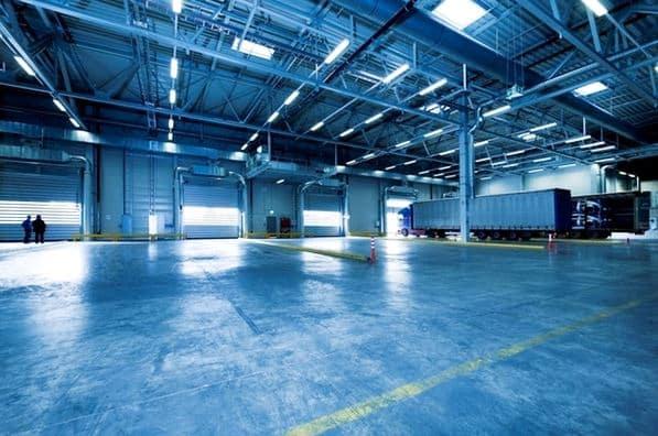 eficiencia energética empresas, iluminacion led industrial