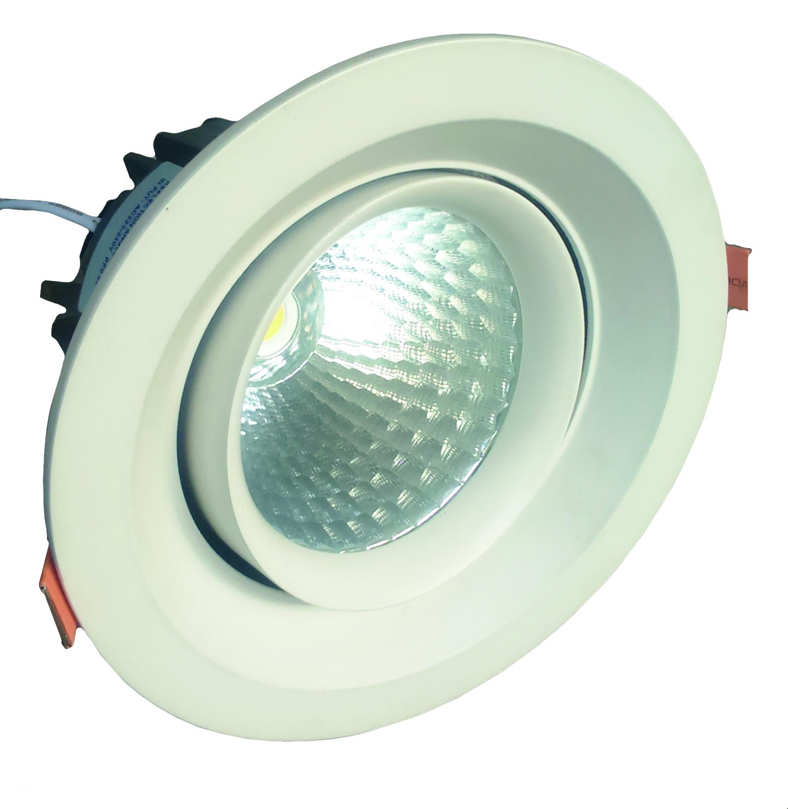 Foco LED Embutido Basculante 35W