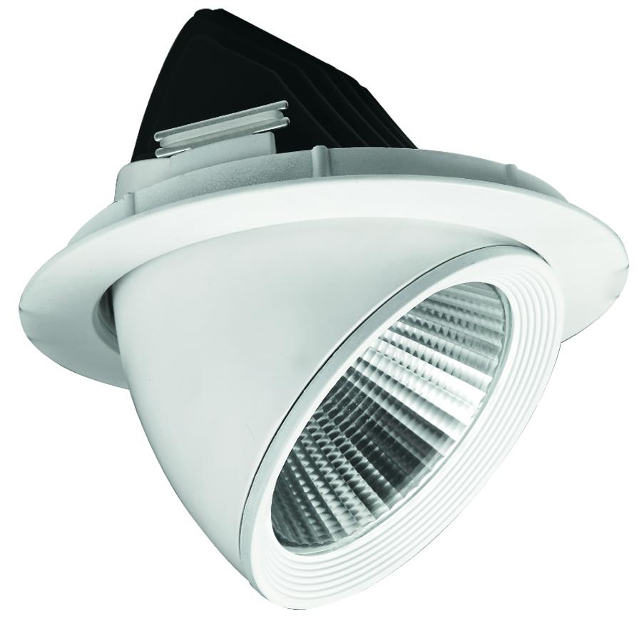 Foco LED Embutido Codo 30W