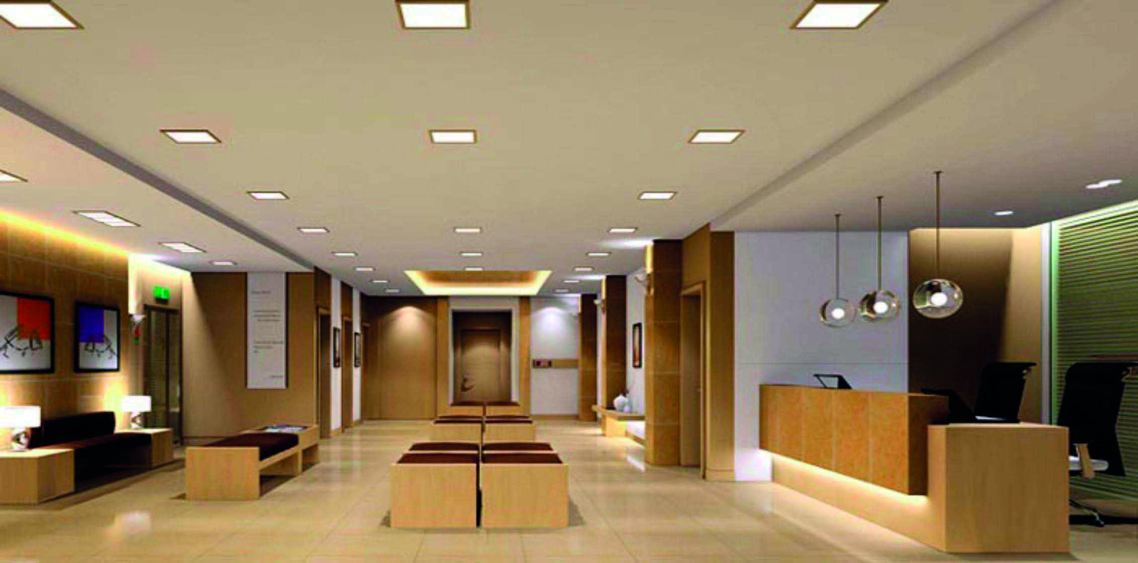 Panel LED Cuadrado Embutido 12W