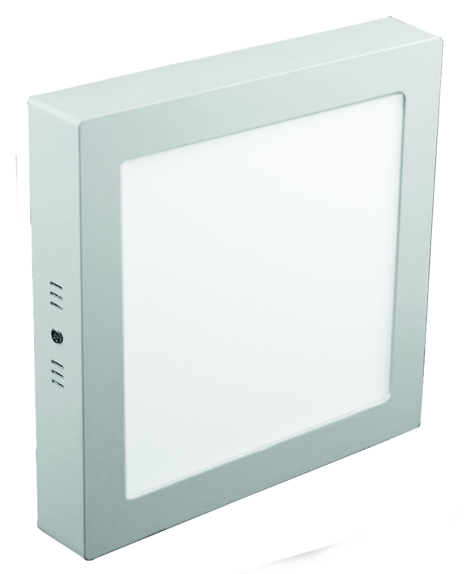Panel LED Cuadrado Sobrepuesto 18W
