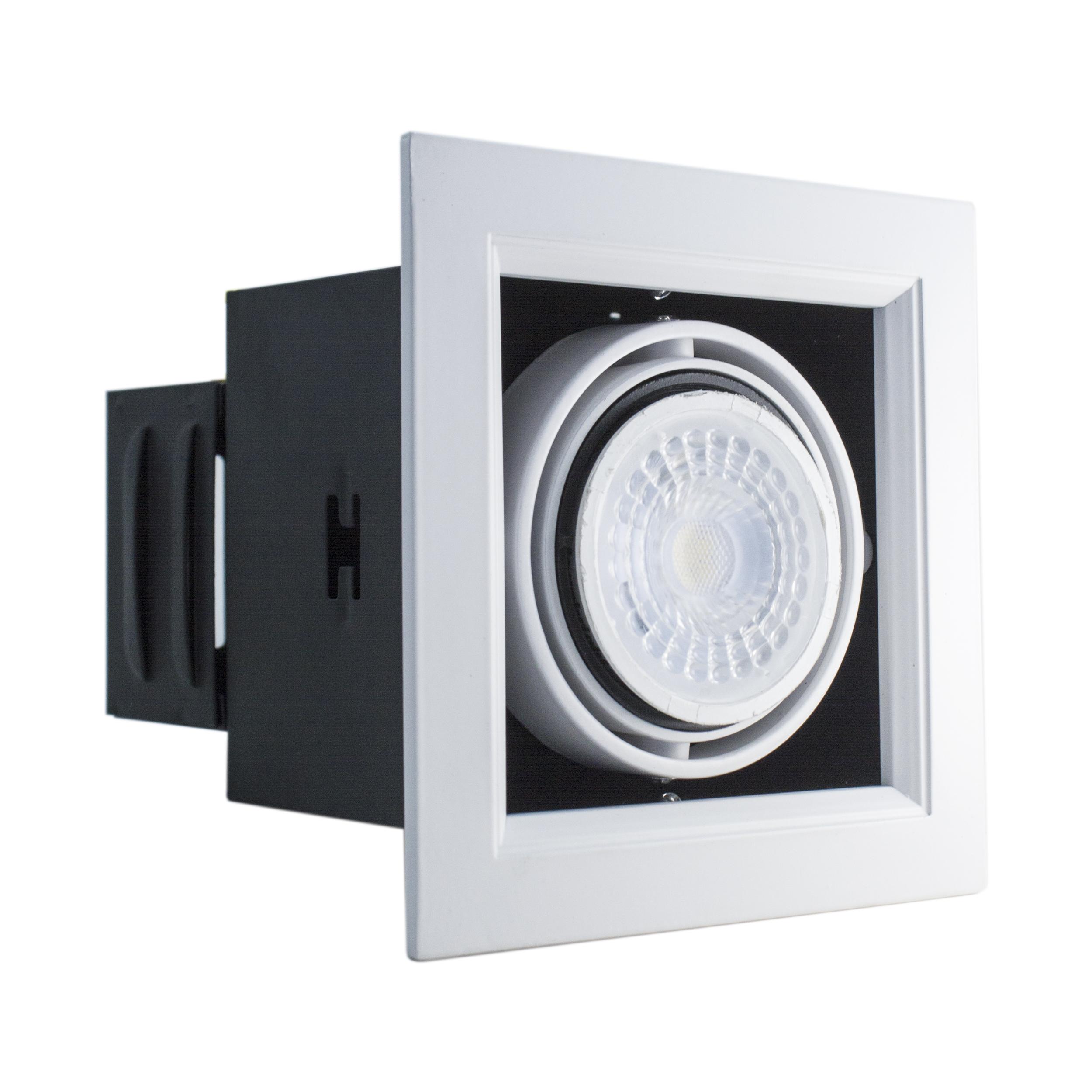 Foco LED Puzzle Embutido Simple 35W