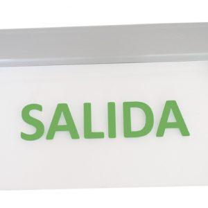 Señalética de Emergencia LED